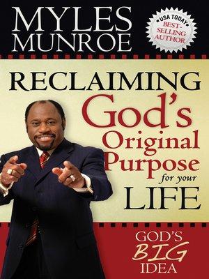 Myles Munroe Book