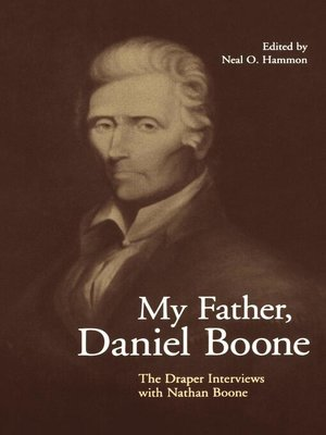 cover image of My Father, Daniel Boone