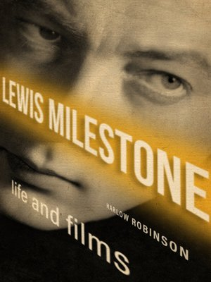 cover image of Lewis Milestone