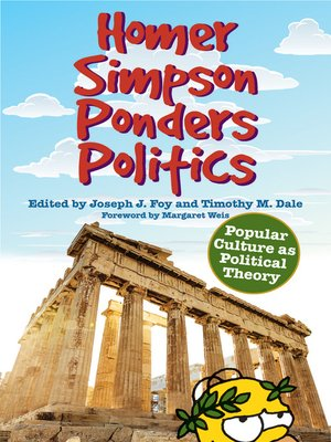 cover image of Homer Simpson Ponders Politics