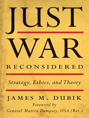 cover image of Just War Reconsidered