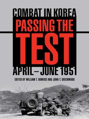 cover image of Passing the Test