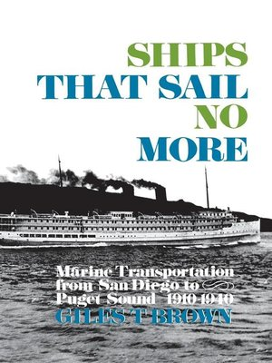 cover image of Ships That Sail No More