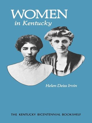 cover image of Women in Kentucky