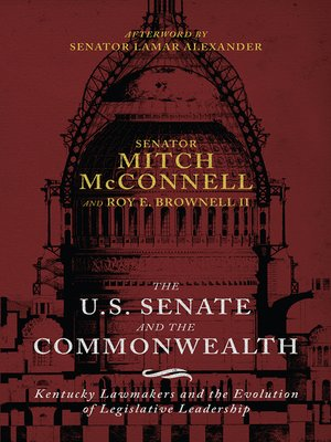 cover image of The US Senate and the Commonwealth