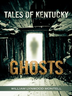 cover image of Tales of Kentucky Ghosts