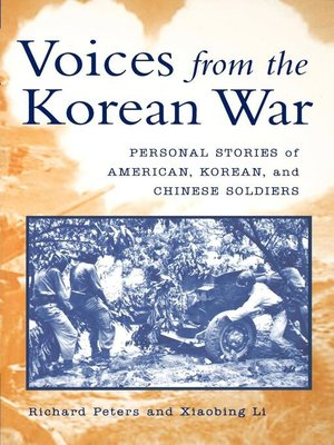 cover image of Voices from the Korean War