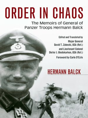 cover image of Order in Chaos