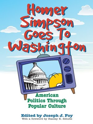 cover image of Homer Simpson Goes to Washington