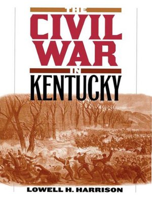 cover image of The Civil War in Kentucky