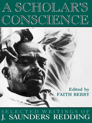 cover image of A Scholar's Conscience