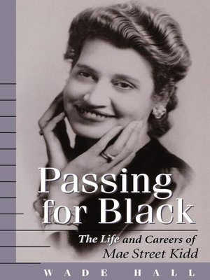 cover image of Passing for Black