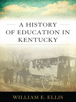 cover image of A History of Education in Kentucky