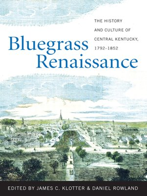 cover image of Bluegrass Renaissance