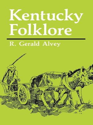 cover image of Kentucky Folklore