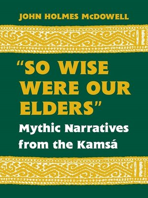 "cover image of ""So Wise Were Our Elders"""