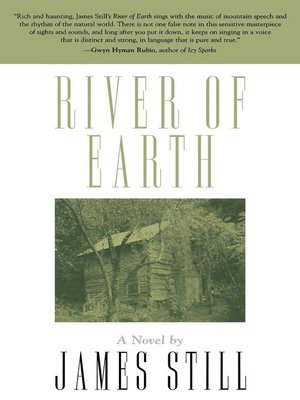 cover image of River Of Earth