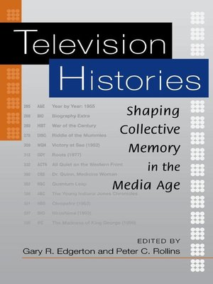 cover image of Television Histories