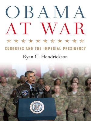 cover image of Obama at War