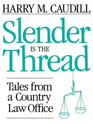 cover image of Slender Is The Thread