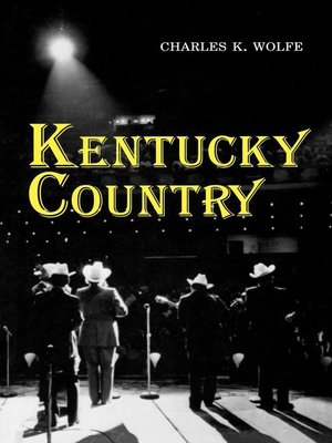 cover image of Kentucky Country