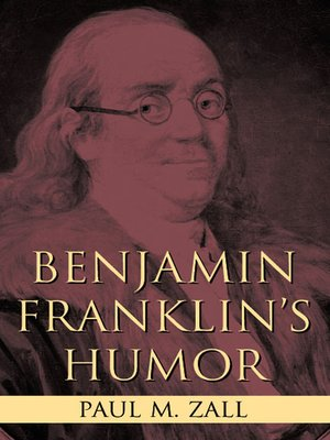 cover image of Benjamin Franklin's Humor