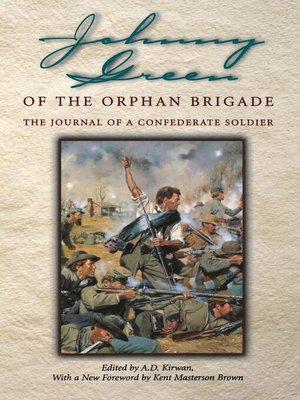 cover image of Johnny Green of the Orphan Brigade