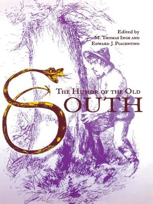 cover image of The Humor of the Old South