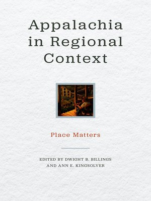 cover image of Appalachia in Regional Context