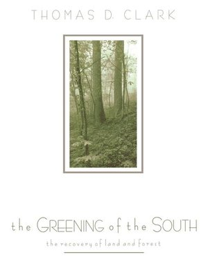 cover image of The Greening of the South