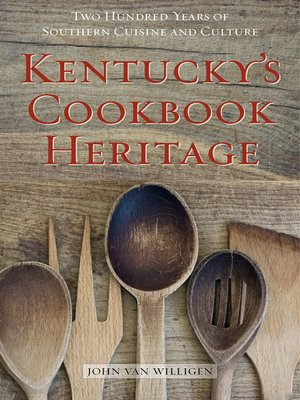 cover image of Kentucky's Cookbook Heritage