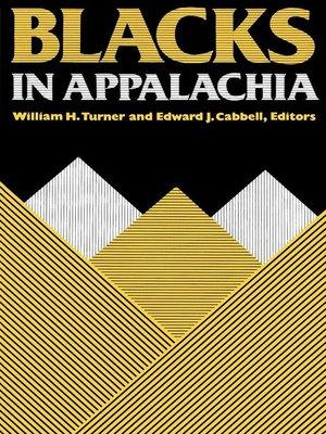 cover image of Blacks in Appalachia