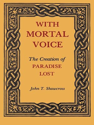 cover image of With Mortal Voice