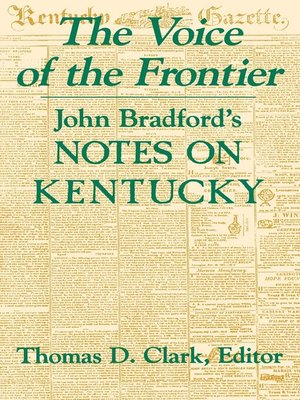 cover image of The Voice of the Frontier