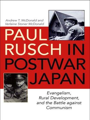 cover image of Paul Rusch in Postwar Japan