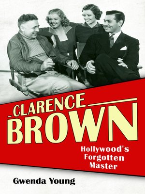 cover image of Clarence Brown