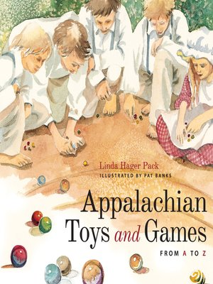 cover image of Appalachian Toys and Games from A to Z