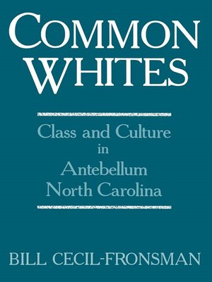cover image of Common Whites