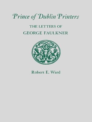 cover image of Prince of Dublin Printers