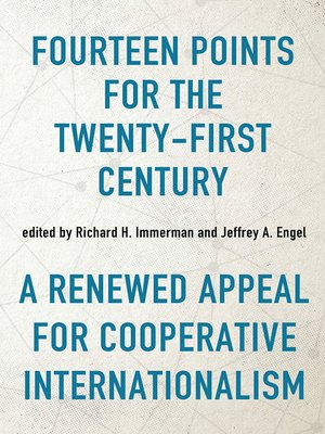 cover image of Fourteen Points for the Twenty-First Century