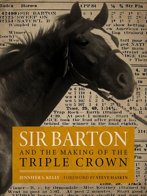 cover image of Sir Barton and the Making of the Triple Crown