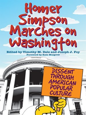 cover image of Homer Simpson Marches on Washington