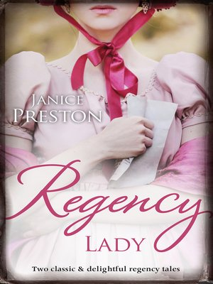 cover image of Regency Lady