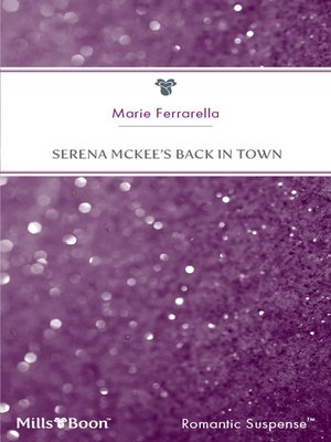 cover image of Serena Mckee's Back In Town