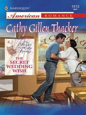 cover image of The Secret Wedding Wish