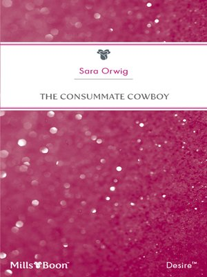 cover image of The Consummate Cowboy