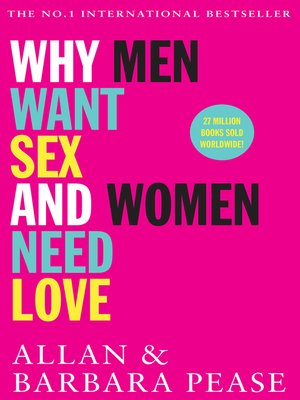 cover image of Why Men Want Sex and Women Need Love