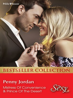 cover image of Penny Jordan Bestseller Collection 201204/Mistress of Convenience/Prince of the Desert