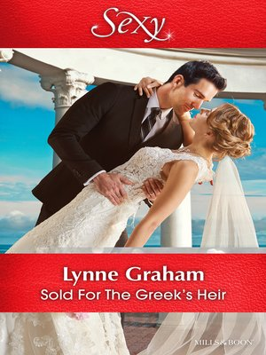 cover image of Sold For the Greek's Heir