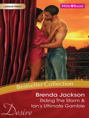 cover image of Brenda Jackson Bestseller Collection 201201/Riding the Storm/Ian's Ultimate Gamble